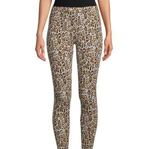 Women's Ankle Leggings Leopard Print Size 2XL (19)